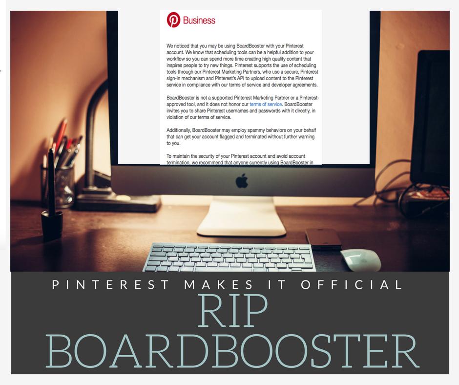 RIP BoardBooster