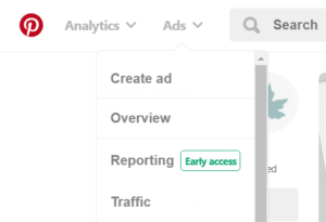 Use your Pinterest Business Account to find Pinterest keywords