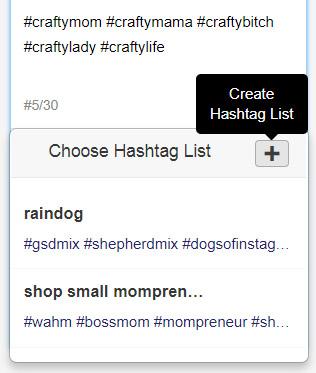 tailwind hashtag list